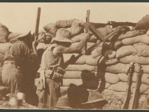 Trench Warfare at Gallipoli