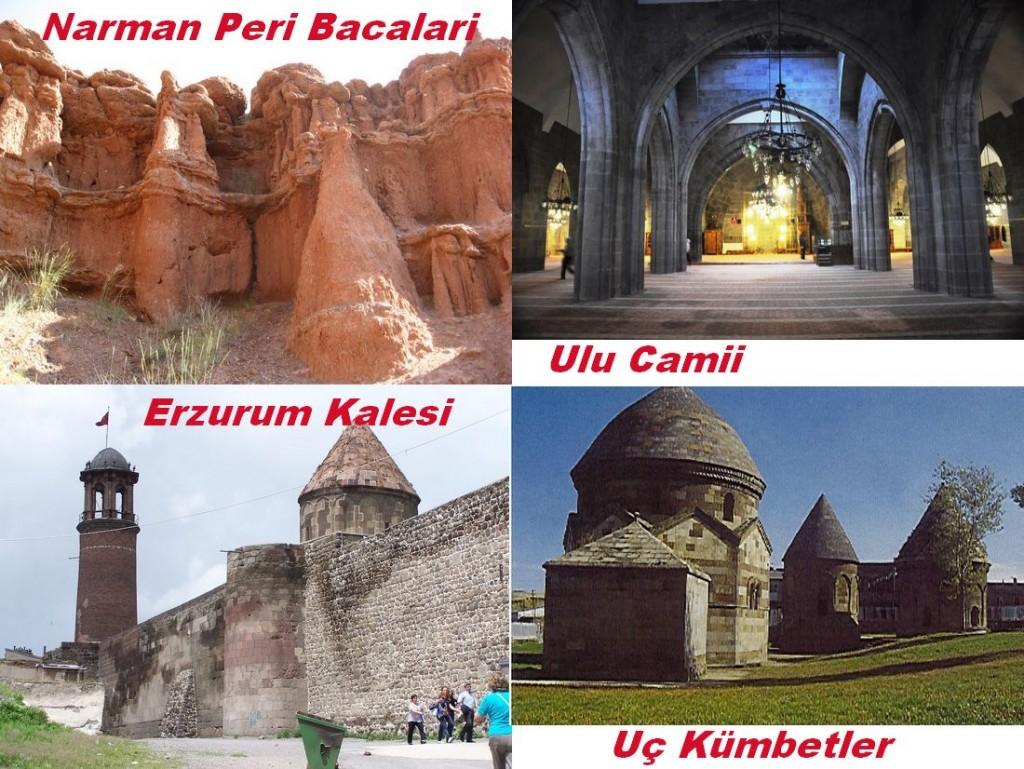 Erzurum bezienswaardigheden
